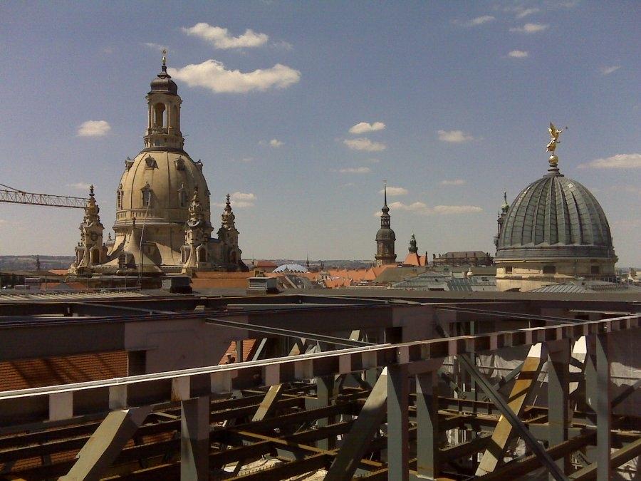 Lilienblum | Vermessung | Dresden | Albertinum | Stahlfachwerkkonstruktion
